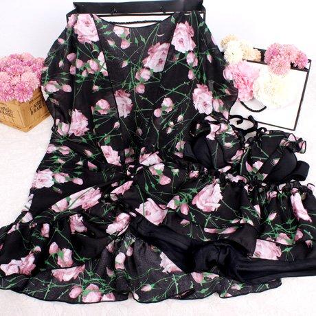 YUPE Hot spring Badeanzug Mode Bademode - Bikini Rock drei Stück Mode Anzug Bademode Mädchen