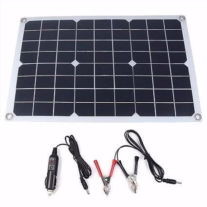 Amazon.com: Decdeal - Panel solar de silicona monocristalina ...