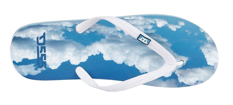 327ccc305100a1 Duke Kailua Flip Flops Blue 15  Amazon.co.uk  Shoes   Bags
