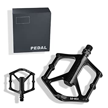 PROMEND Pedales MTB Bicicleta Pedales Pedales de Bicicleta MTB Ultralight rodamientos sellados Mountain Bike Road Bike
