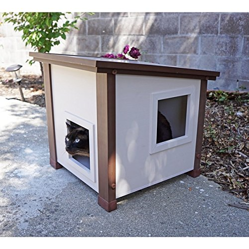 ecoFLEX Outdoor and Feral Cat House, Measures 20.1 inches high x