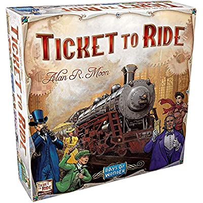 Ticket To Ride - Play With Alexa: Various: Toys & Games