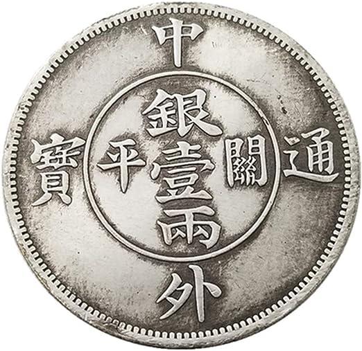Ccyyy Moneda de Plata Antigua China y extranjera tongbao una o Dos ...