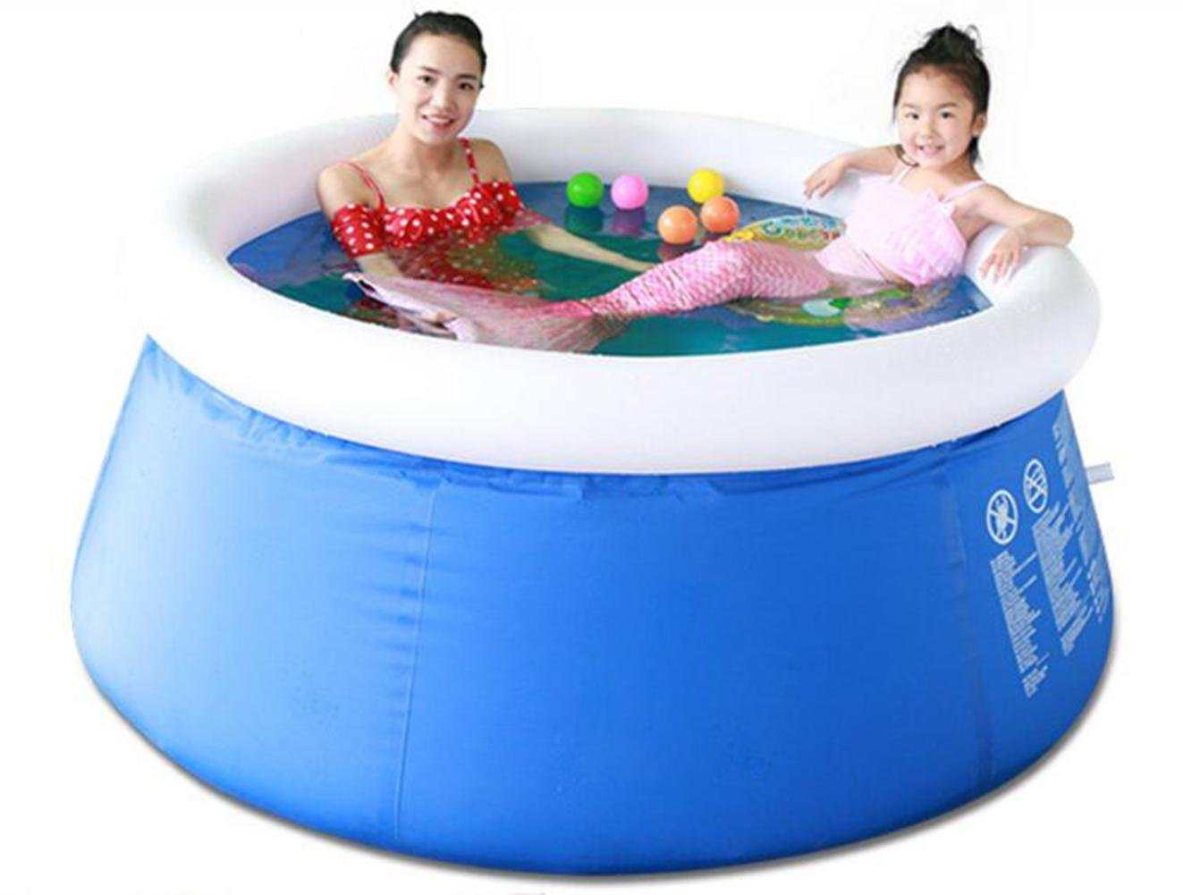 DU&HL Fast Inflatable Swimming Pool (180 73cm)