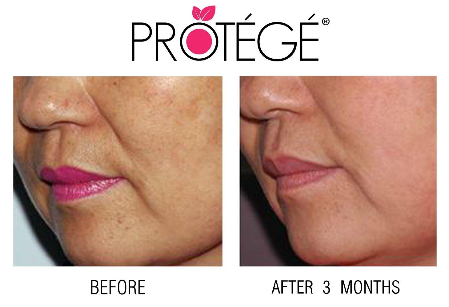 Protege Beauty Luminate crema aclarante para la piel natural/reduce las manchas oscuras 60 ml: Amazon.es: Belleza