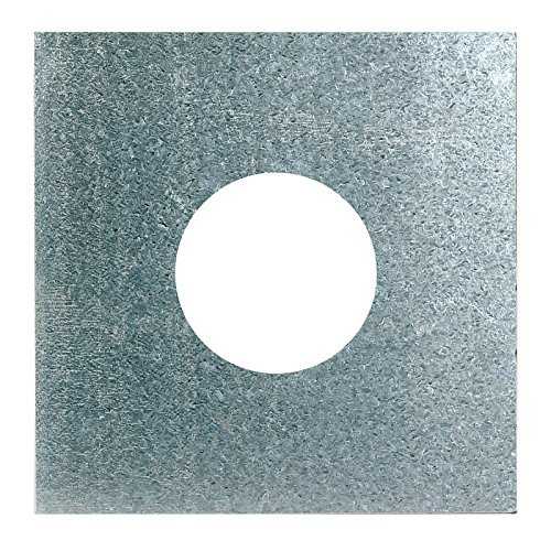 ChimFit 6 Top Plate - Multifuel - To Be Used With Flexible Flue Liner by ChimFit (Liners Flue Flexible)