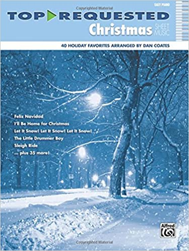 winter wonderland simplified piano arrangements by dan coates