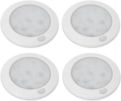 LED-Deckenleuchte Innenbeleuchtung Caravan// Boot Wohnmobil Lampe 12V  Warm Weiß