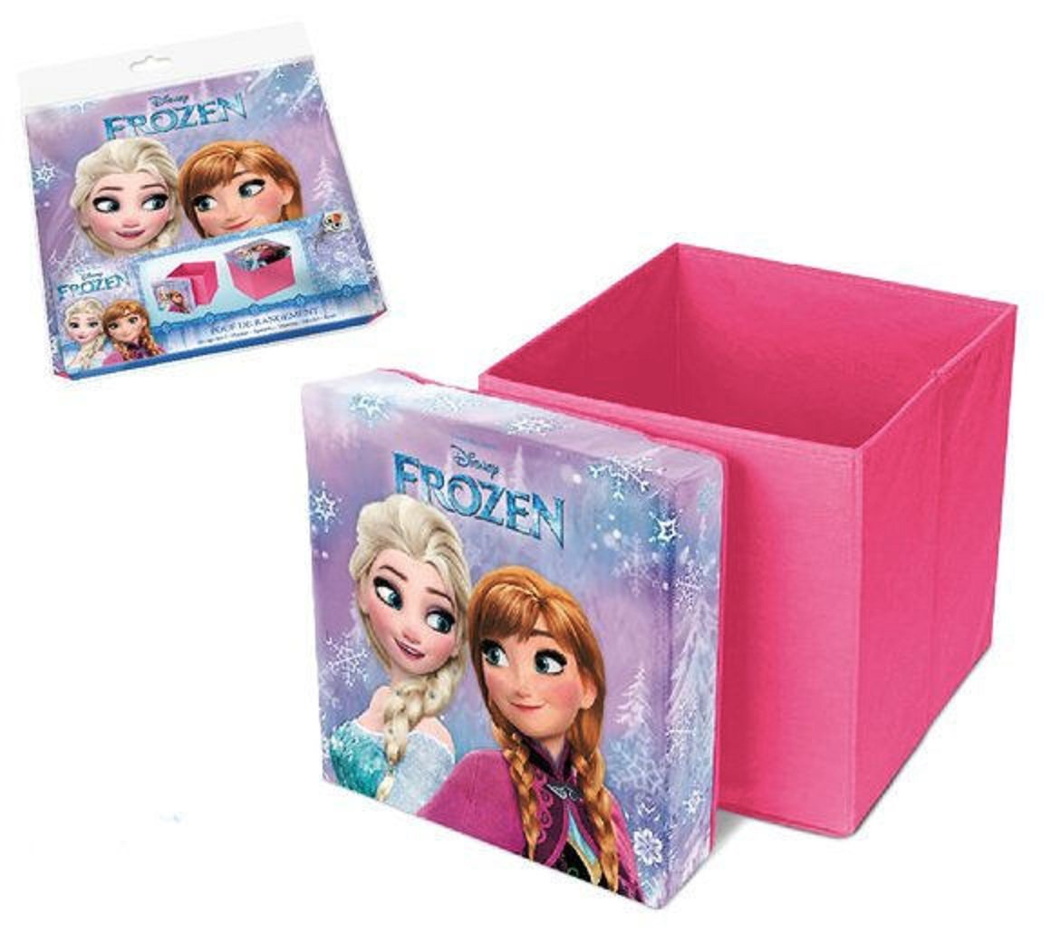 Frozen Disney Puff Portaoggetti Pieghevole Sgabello Scatola Bambini Gioco ELI EL51298