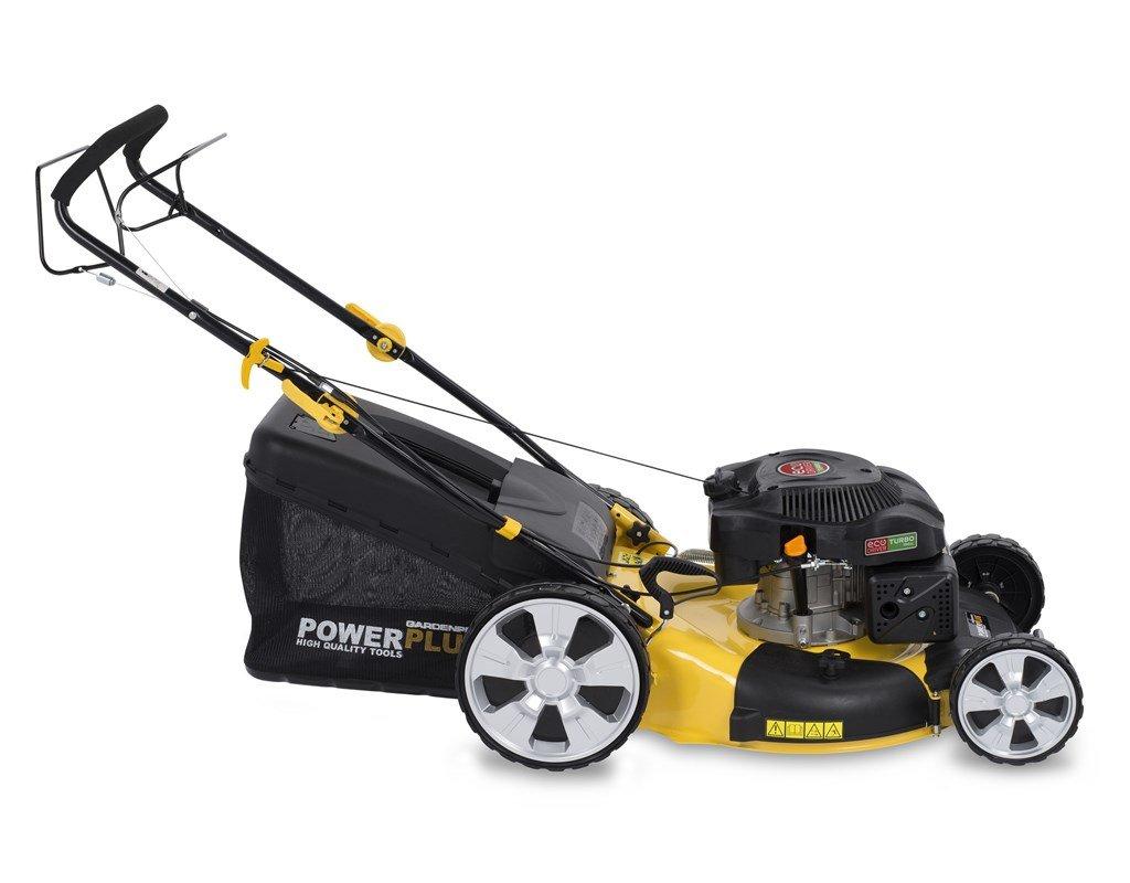 Powerplus POWXG60220 Walk behind lawn mower Gasolina Negro ...