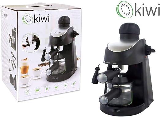 Kiwi 56547 Cafetera Expresso 4 Tazas, 800 W: Amazon.es: Hogar