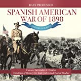 Spanish American War of 1898 - History for Kids - Causes, Surrender & Treaties | Timelines of History for Kids | 6th Grade Social Studies