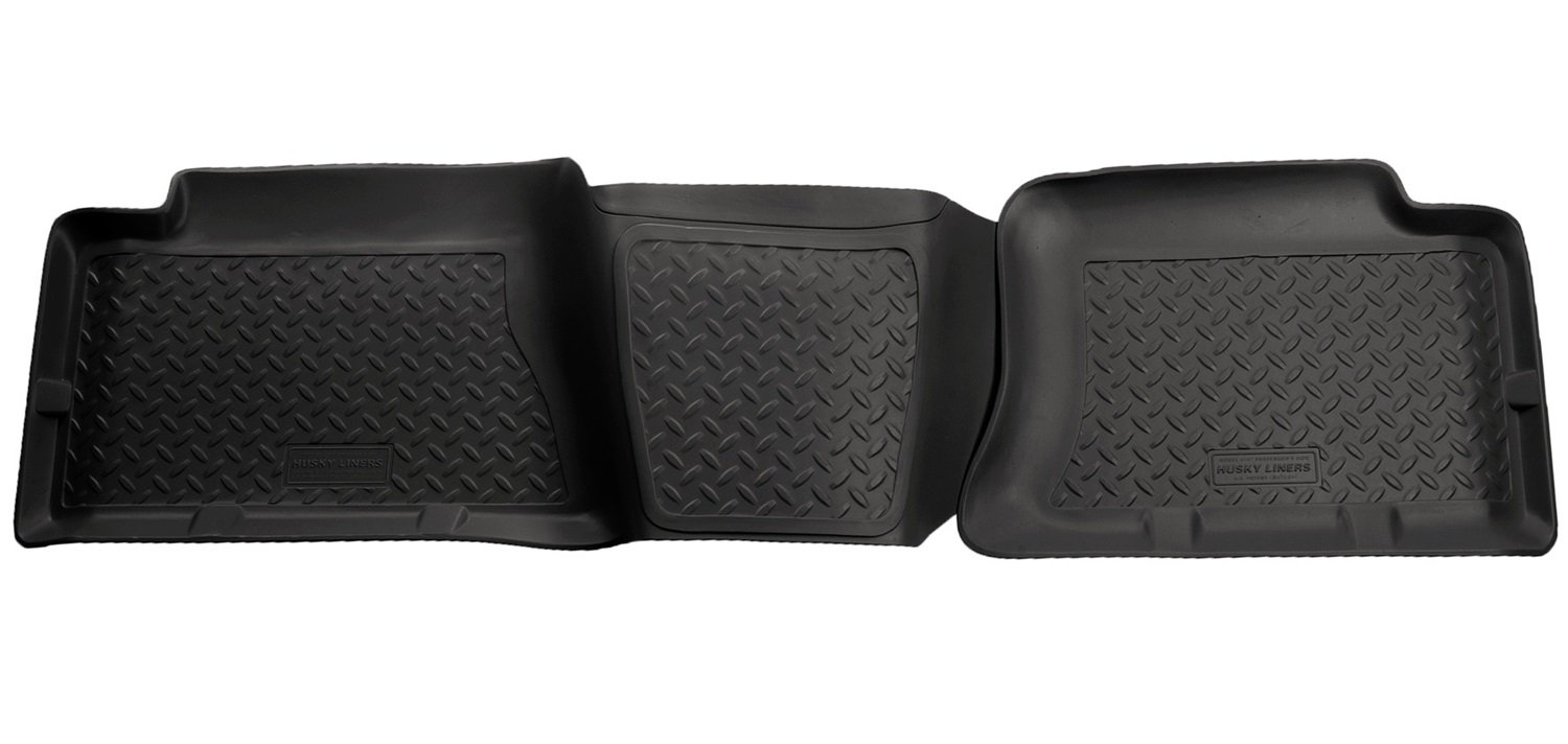 Husky Liners 2nd Seat Floor Liner Fits 04-07 Silverado//Sierra 1500 Crew Cab Winfield Consumer Products 61471