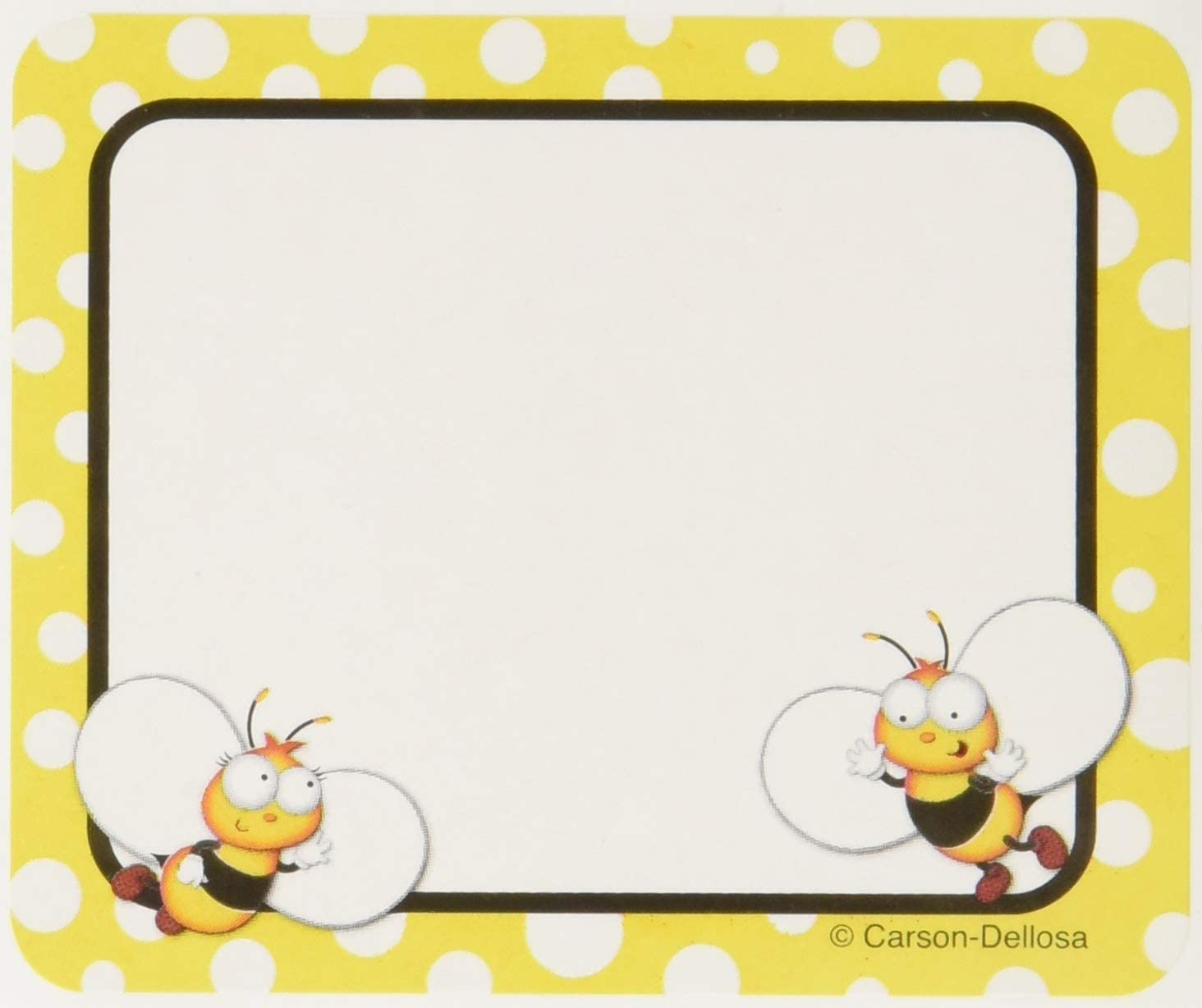 Buzz worthy Bees Shape Stickers