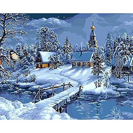 Lienzo Arte para Los Regalos Sal/ón Blanco Home Living Oficina Navidad A/ño Nuevo San Valent/ín Decoraciones Rosa roja sobre la Mesa 16*20 Inch Sin Marco Digital Pintura al /óleo DIY N/úmeros