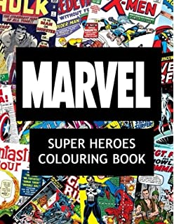 Marvel Super Heroes Colouring Book Hero Wolverine Avengers
