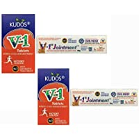 KUDOS AYURVEDA V1 Tablet with Jointment - Pack of 2