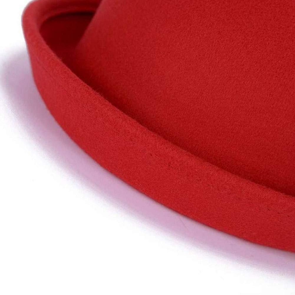 Black Kylin Express Ladies Elegant Hat Winter Cap Bowler Hat Fashion Gift for Women