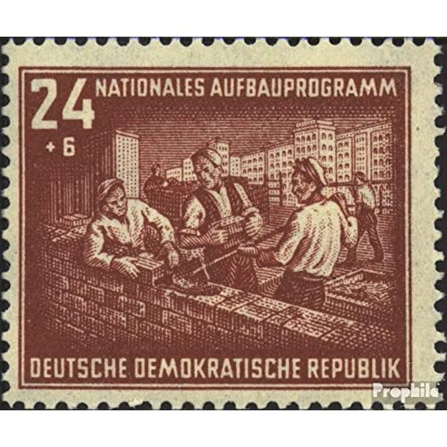 DDR 304 1952 national mise en place du programme Berlin (Timbres pour les collectionneurs)