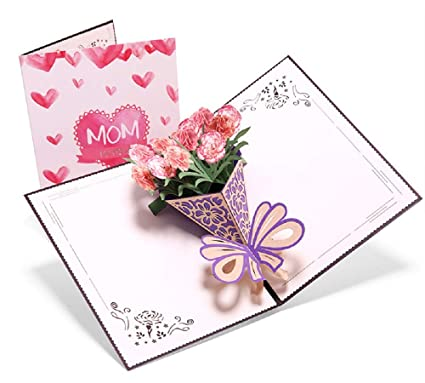 Deesos día de la Madre tarjeta,Tarjeta de cumpleaños para ...