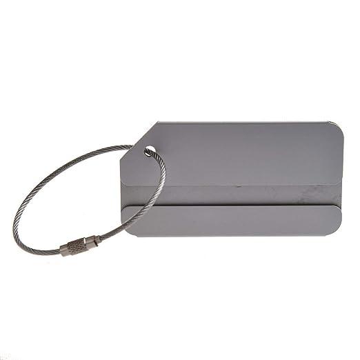 Ogquaton Etiqueta de aleación de Aluminio Equipaje Remolque ...