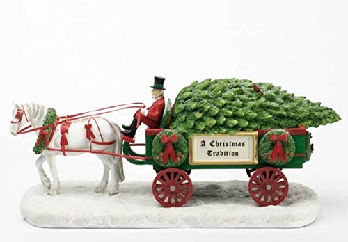 Enesco Trail of Painted Ponies a Christmas Tradition Centerpiece, 7.5-Inch
