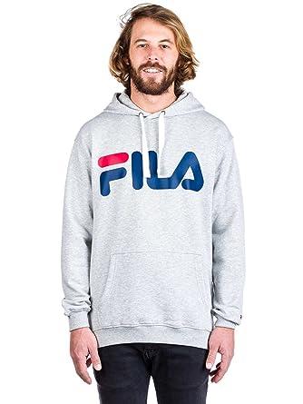 Fila Classic Logo Hoody, Sweatshirt  Amazon.de  Bekleidung d8b86a437b