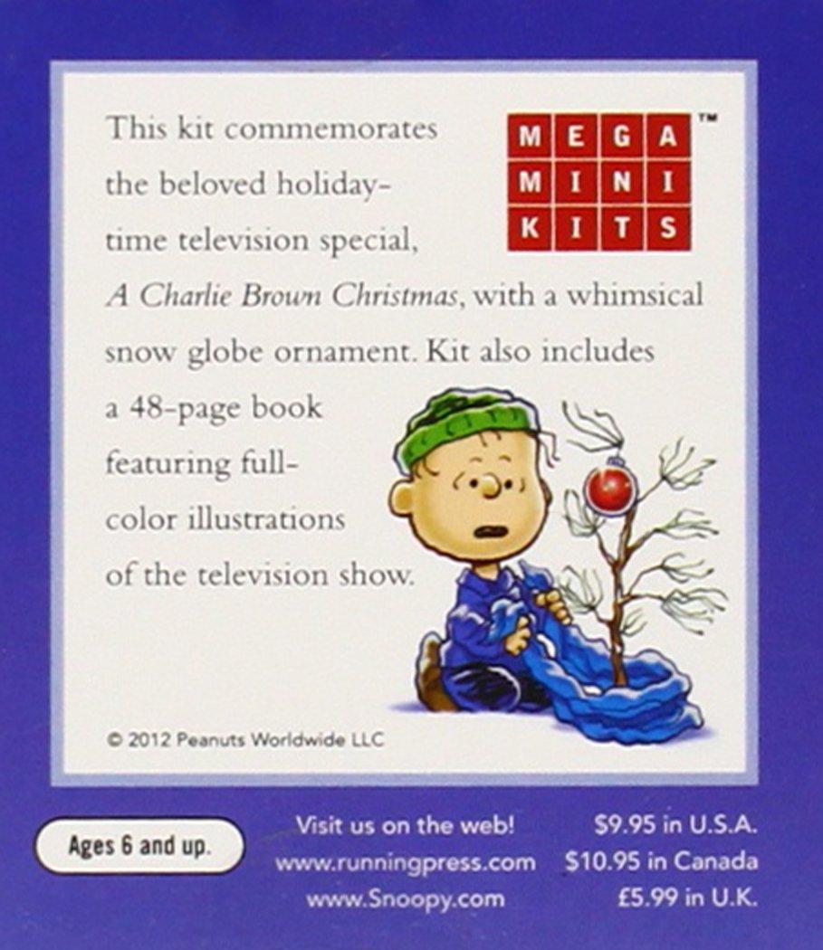 Amazon.com: A Charlie Brown Christmas Snow Globe (Miniature Editions ...