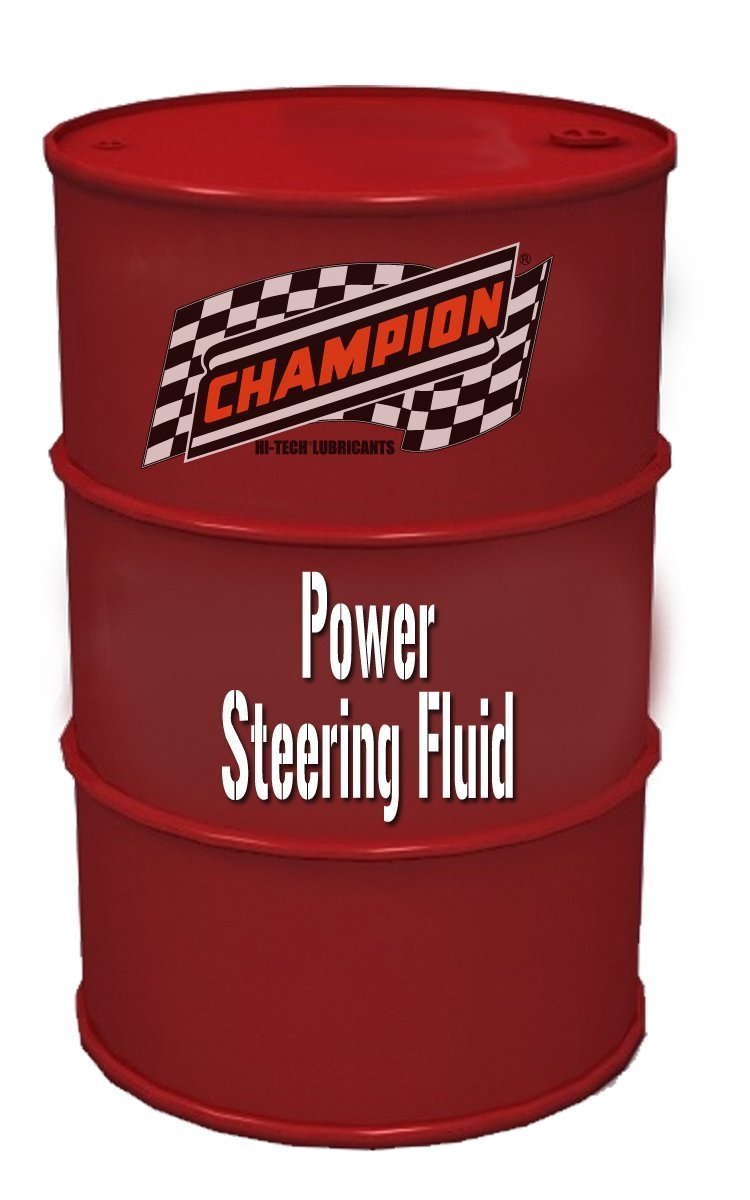 Champion Brands 4182AN Power Steering Fluid - 55 Gallon by Champion