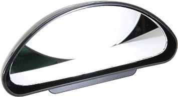 AUTO Universale Specchio supplementare SPECCHIETTI Specchietto Retrovisore Grandangolare Specchio Nero