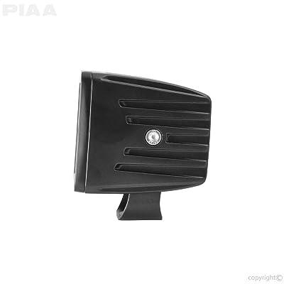 """PIAA QUAD CUBE LED LIGHT KIT, FLOOD BEAM Black 3"""": Automotive"""