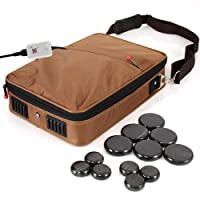 Portable Massage Stone Warmer Set - Electric Spa Hot Stones Massager Heater Kit...