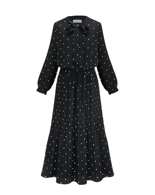 elige el más nuevo varios estilos diseño profesional Vestidos Mujer Elegantes Talla Grande Otoño Vestido Invierno ...