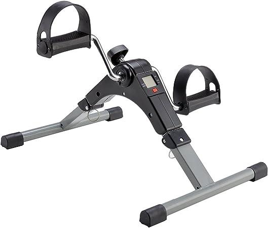 Mini Bicicleta Estática Plegable Máquina Pedalear Manos Piernas Rehabilitación