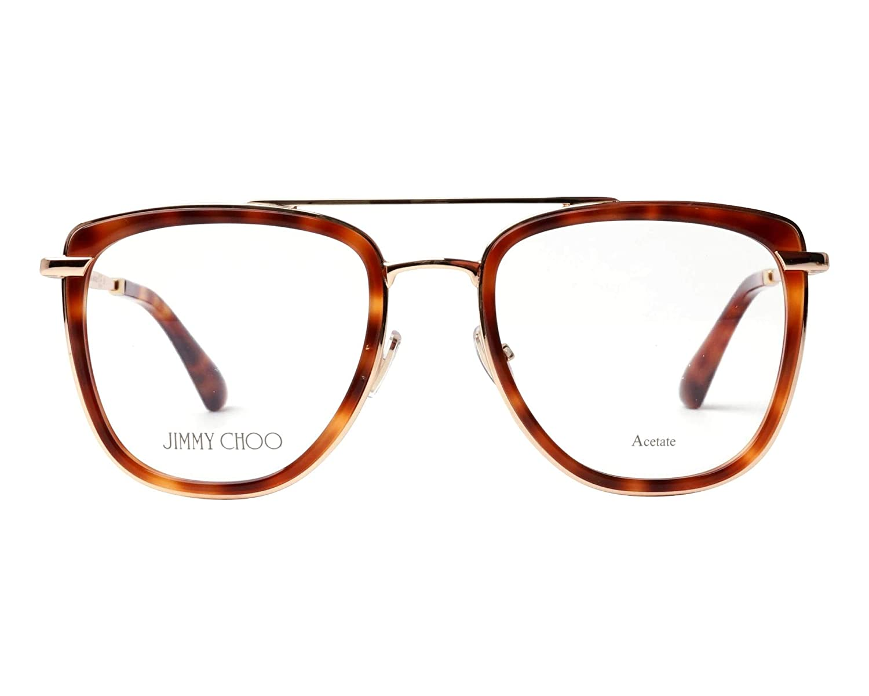 Amazon.com: Jimmy Choo JC 219 086 - Gafas cuadradas (metal ...