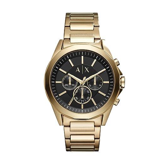 15a571e35d6b Armani Exchange AX2611 Reloj de Hombres  Amazon.es  Relojes