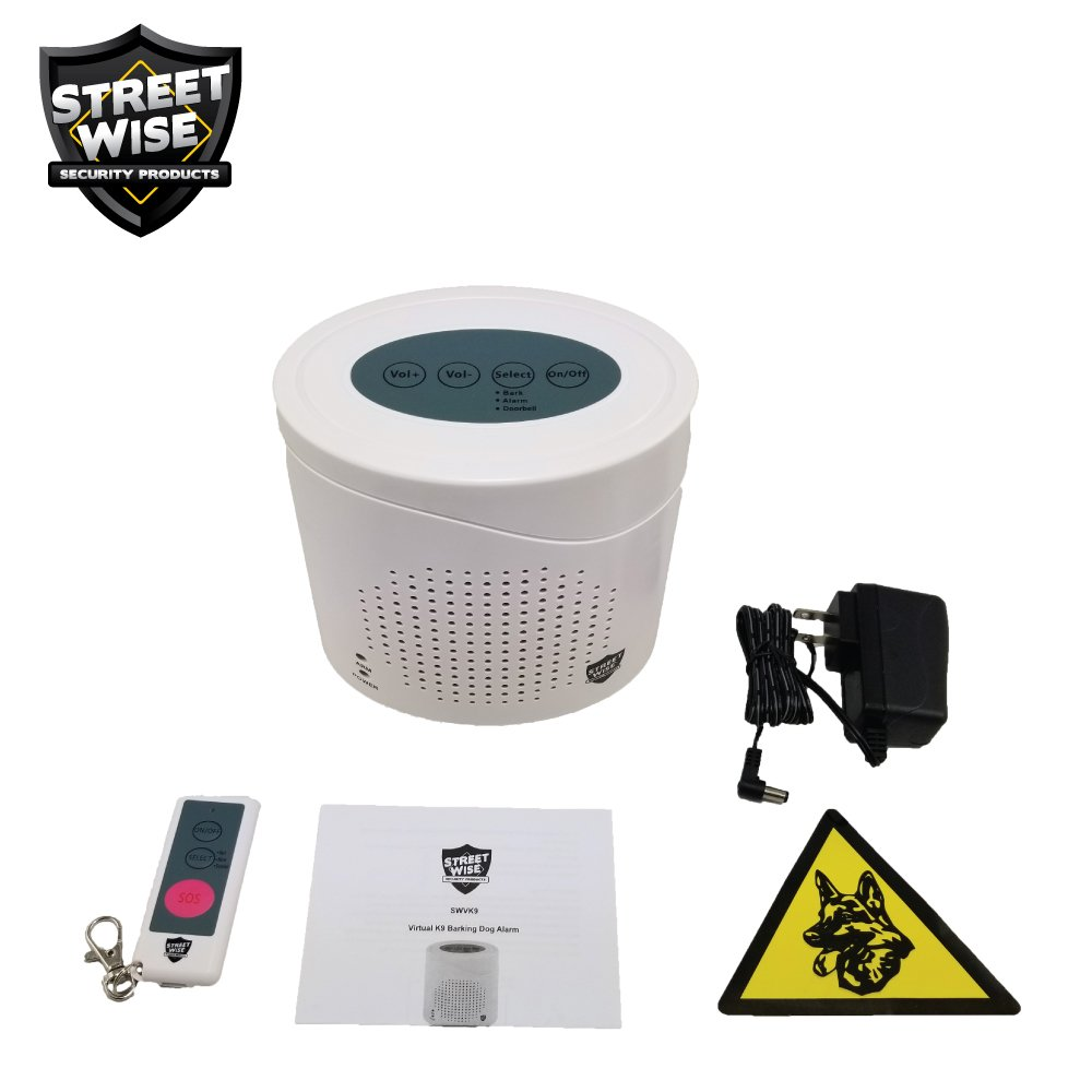 Amazon.com: Streetwise Virtual K9 perro que ladra alarma ...