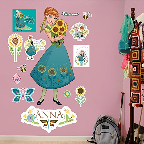 Fathead Anna-Frozen Fever Real Decals