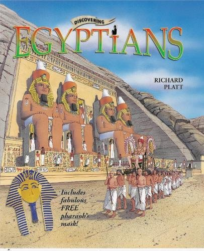 Discovering Egyptians: Includes Pharaoh Mask (Discovering History)