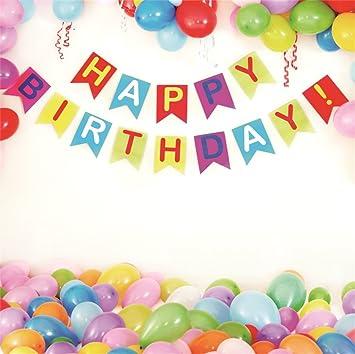 Amazoncom Lfeey 6x6ft Colorful Balloons Backdrop Kids Child Girls