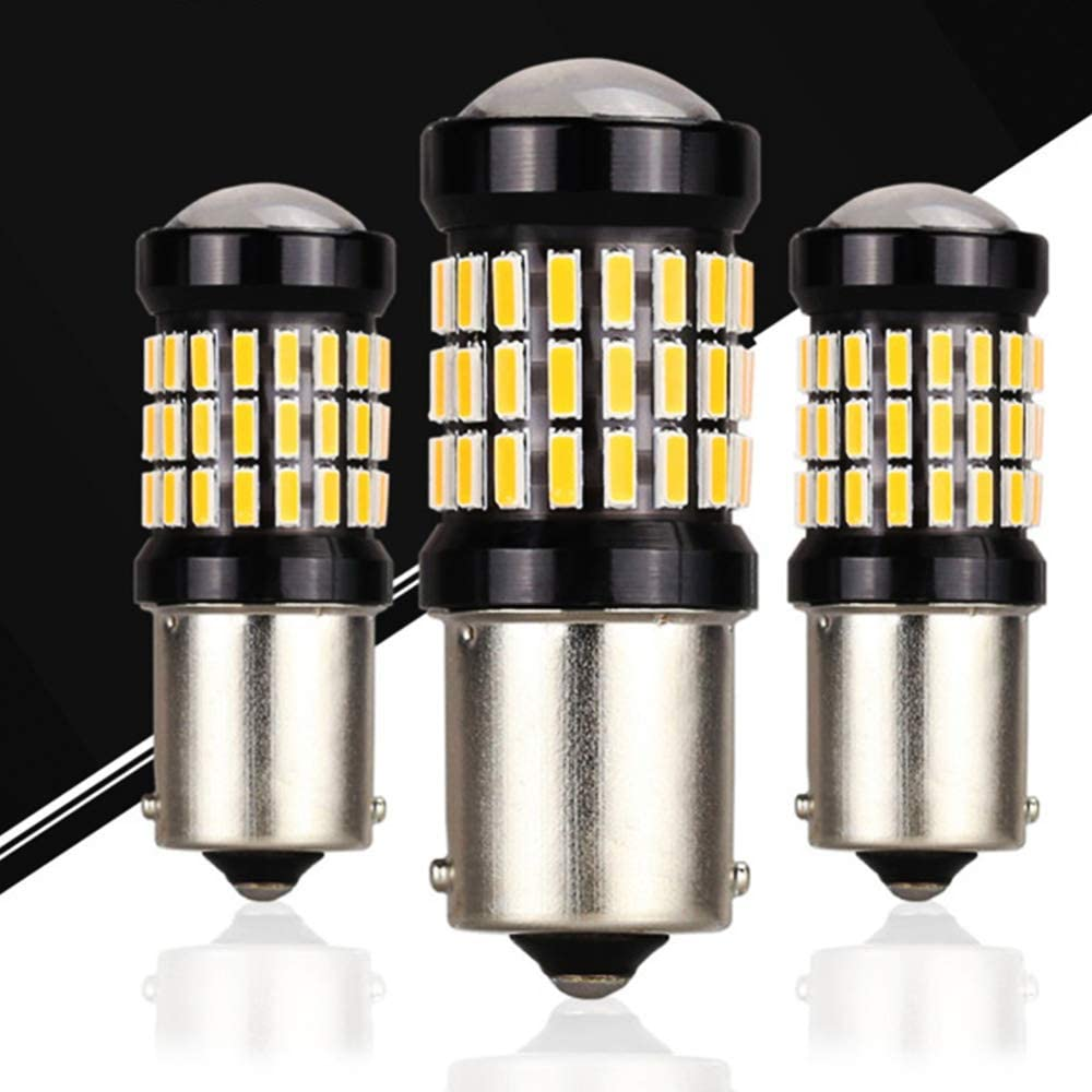 AK-4014 60 SMD Replacement Bulbs for Interior RV Camper Tail Back Up Reverse Bulbs Day Running Light ALOPEE 4-Pack Super Bright White 1156 BA15S 1141 1003 7506 LED Light 9-18V-DC