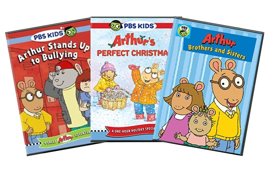 Arthurs Perfect Christmas.Amazon Com Pbs Arthur Educational Learning Dvd Collection