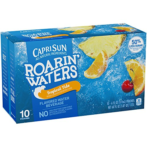 water and juice boxes - 3