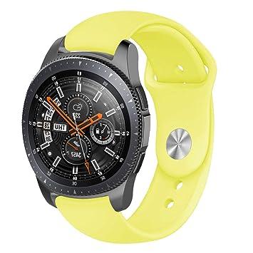 Correa de Silicona Suave para Reloj Samsung Galaxy Watch 46 mm ...