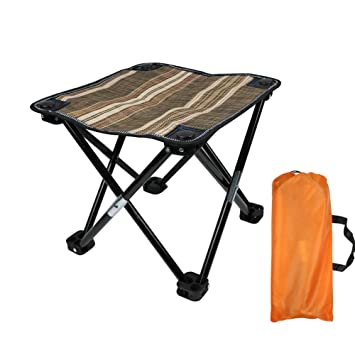 Awesome Pinze Camping Chairs For Adults Folding Stool Camp Chair For Heavy People Lightweight Folding Chairs Directors Chair Camping With Carry Bag Machost Co Dining Chair Design Ideas Machostcouk