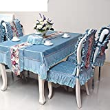 Four Seasons,Universal,European Style,Breathable,Non-slip Tablecloth-A diameter180cm(71inch)
