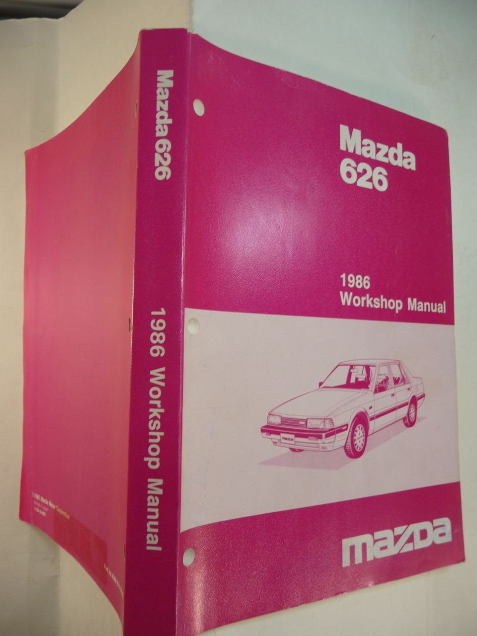 Mazda 626, 1986 Workshop Manual: Mazda Motor Corporation: Amazon.com: Books