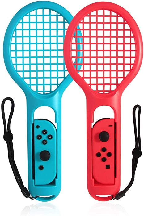 OSTENT 2 x mango de raquetas de tenis mango agarre para Nintendo ...