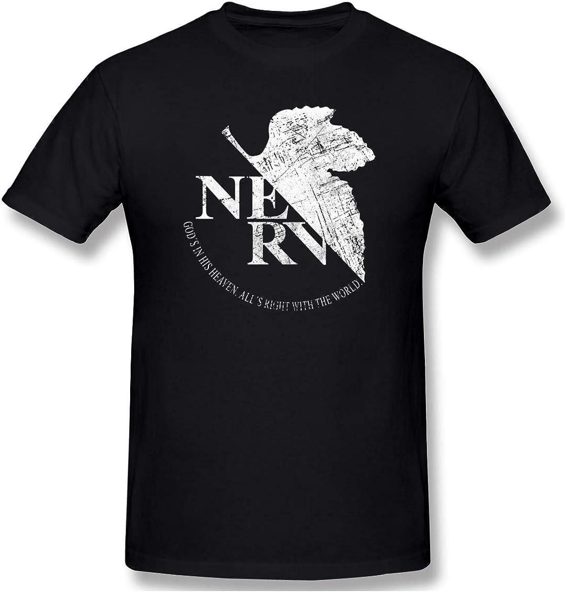 Neon Genesis Evangelion: NERV Logo Black T-Shirt