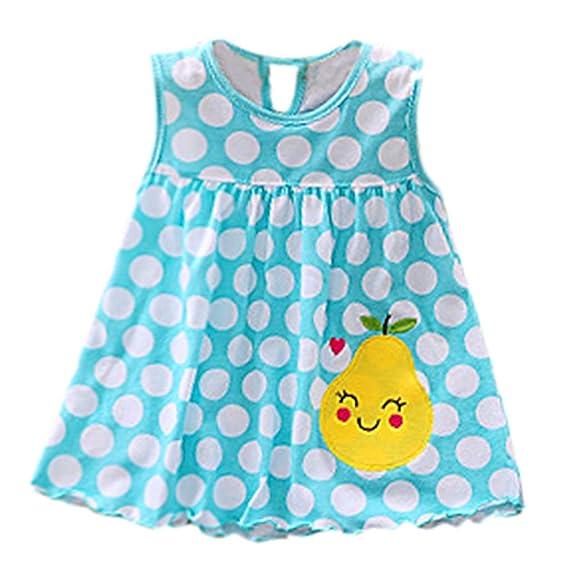 Vestido para Bebe Niña Fiesta Bautiz Primavera Verano 2019,PAOLIAN Conjunto Bebé Niña Recién Nacidos